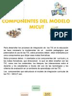 COMPONENTES DEL MODELO MICUT