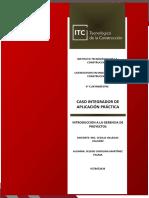 CASO INTEGRADOR DE APLICACIÓN PRÁCTICA - BODA I