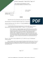 Gemmer v. Surrey Services - Order Adopting R&R