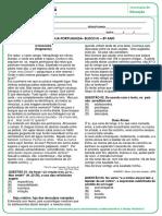 CREMILDA - ATIVIDADE REMOTA - PORTUGUÊS - BLOCO III - 8º ANO-convertido