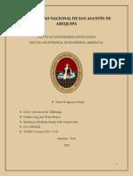 Practica 11 - EL AGUA EN EL SUELO