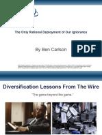 Diversification Presentation