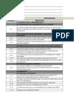 EVALUACION DE AUDITORIA   ISO 14001