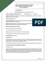 GUIA DE APRENDIZAJE No 2- PREPARAR TERRENOS MANUALMENTE PARA CONSTRUIR OBRAS DE ARTE Y OBRAS DE