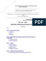 2003 Rework of Bill 38