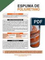 Ficha tecnica Espuma de Poliuretano