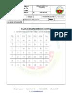 TALLER DE REFUERZO DIMENSION COMUNICATIVA SEGUNDO PERIODO