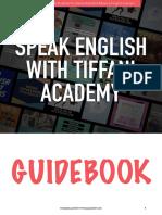 SpeakEnglishWithTiffaniAcademyGuidebook