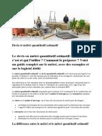 Devis et métré  travaux publics.pdf