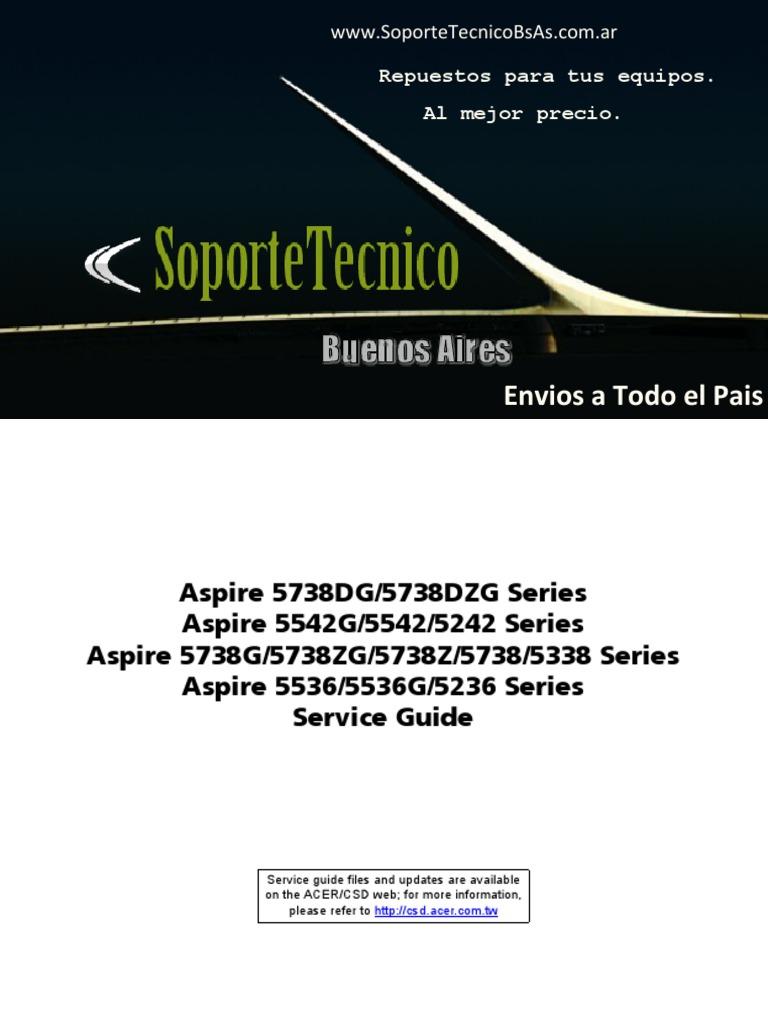 213 service manual -aspire 5738dg 5738dzg 5542g 5542 5242 5738g.