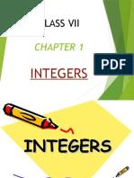 INTEGERS (1)