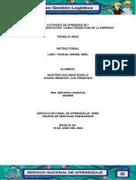 Actividad de aprendizaje 7 presentacion Caracterización de la empresa.
