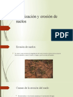 Salinización y erosión de suelos