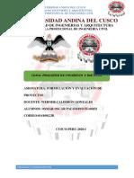 Formulación y Evaluación de Proyectos- Osmar Oscar Palomino Flores
