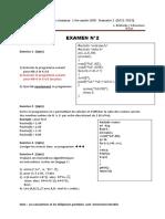 Examen semestre2 2013