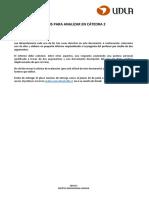 Análisis de casos para cátedra 2 EDU713    natalia