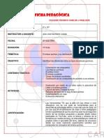 FICHA PEDAGÓGICA CLASE DE ENLACE QUIMICO