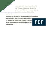 ACTIVIDADES EX-AULA DE 1º AÑO