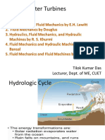 Water Turbines Lecture