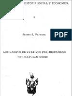 Los Campos de Cultivos Pre-Hispánicos