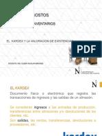 CLASE KARDEX Y VALORACION DE EXISTENCIAS 2018-1