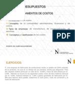 CLASE FUNDAMENTOS DE COSTOS-2018-1 - PARTE 2
