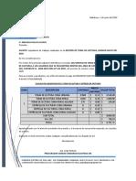 IMFORME DE LECTURAS MAYO 2020