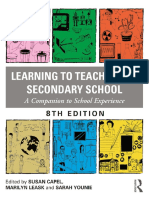 Learning to Teach in the Second - Capel, Susan; Leask, Marilyn; Y