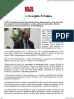 Imprimir - El virus académico según Antanas Mockus