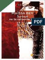 Maissa Bey - Surtout ne te retourne pas