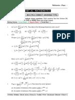 Mathematics Paper - 1 (Question Paper)-6