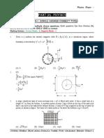 Physics Paper - 2 (Question Paper)-6