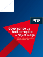 Governance Anti Corruption Project Design