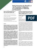 An Open Pilot Study Assessing the Benefits of quetiapine
