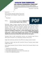 Surat Penawaran Biaya (PENGAWASAN GEDUNG) Revisi