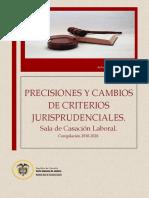 PRECISIONES Y CRITERIOS JUDICIALES