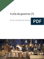 A arte de governar
