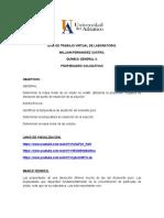 LABORATORIO 4°  PROPIEDADES COLIGATIVAS
