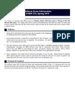 SP18 233 Midterm Info