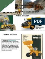 023  Prod Knowle forService admin & non tech staff (Wheel loader+Motor Grader)