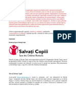cultura organizationala salvati copiii