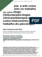 Arteterapia_ a arte como instrumento no trabalho do psicólogo - ψψψ