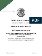 Módulo II PROYECTO DE NORMA