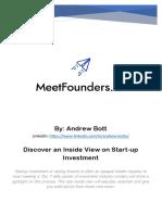 MeetFounders.co Agenda June 15-16 2020