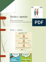 Hecho y opinión ppt - copia