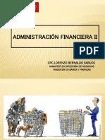 ADMINISTRACIÓN FINANCIERA II - SEM 1