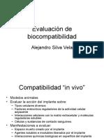 Evaluación de biocompatibilidad