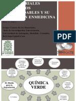 NANOMATERIALES POLIMERICOS BIODEGRADABLES Y SU APLICACIÓN ENMEDICINA. Betty Luci López