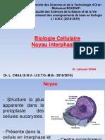 Cours.Biologie.Cellulaire.Noyau.interphasique.2018.2019