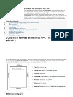 Normas APA 2020 6TA Y 7MA EDICION PARA TRABAJOS ESCRITOS